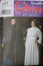 Sewing Pattern Costumes Similar to Star Wars sizes 6-12 (Cut) - $50.00