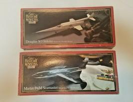 "Revell ""History Makers"" Douglas X-3 Stiletto & Martin P-6M Seamaster - ... - $49.50"