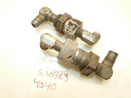 Simplicity Power Max 616 620 720 4040 Tractor Hydraulic Oil Line Couplers - $28.74
