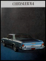 1964 Chrysler Brochure 300 K New Yorker Newport 20 pgs - $14.24