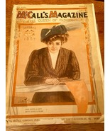 1907 MCCALL'S MAGAZINE OCTOBER NUMBER 2 FALL FASHION ILLUSTRATIONS & ADs - $79.19