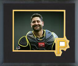 Francisco Cervelli 2018 Pittsburgh Pirates Catcher -11x14 Matted/Framed Photo - $43.95