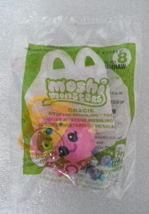 McDonalds 2012 Moshi Monsters Gracie No 8 Mystery Moshling Backpack Clip Toy - $4.99