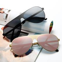 2020 New Alloy Frame Luxury Sunglasses Women Men Brand Design Vintage Su... - $47.36