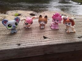 5 Littlest Pet Shop & Other Figurines.  -7 - $5.94