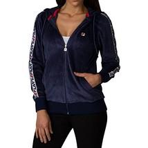 Fila Women's Maureen Velour Jacket (X-Large|Navy, Chinese Red, Navy) - $46.49