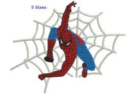 Spiderman 3 Spider man digitized filled embroidery design Digital Download - $4.50