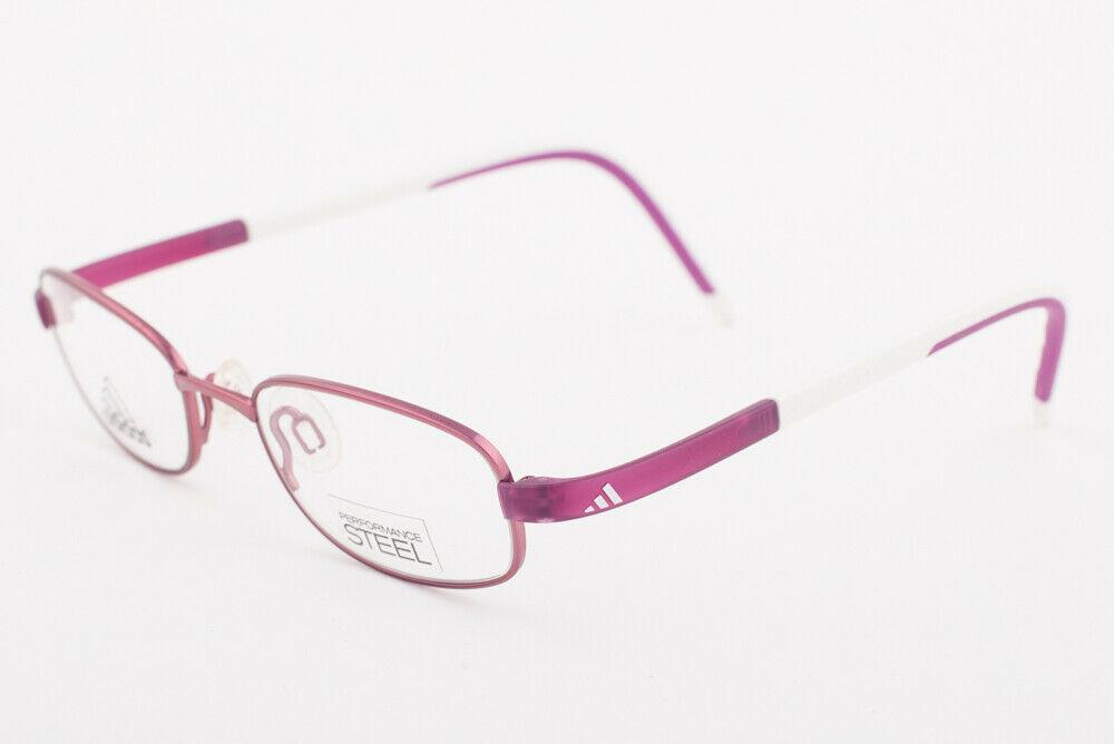 Adidas AD999 40 6051 LiteFit Metallic Pink White Eyeglasses AD999 406051 45mm
