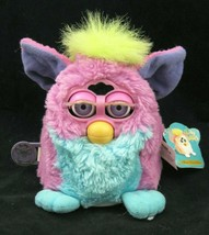 VTG Furby Baby Pink Blue WORKS Model 70-951 Limited Edition 2000 w Tag - $29.65