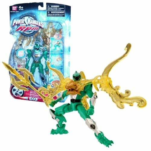 Power Rangers Bandai Year 2009 RPM Auxiliary Trax 5-1/2 Inch Tall Action Figure  - $39.99