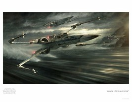 Giclee on Paper print Incom T-70 Tearin' It Up - $158.40