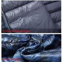 2018 Winter New Thin Down Jacket Short Section Men's Hood Down Jacket Men's Slim image 6