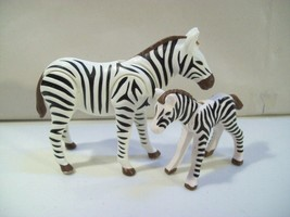 Playmobil Zoo Zebra Mother & Baby Zebra Foal Safari Action Figures 70356 - $12.69