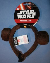 Star Wars Princess Leia Headband Sz M L Dog Costume Disney Head Band NWT - €11,80 EUR
