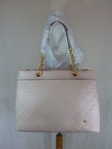 NWT Tory Burch Shell Pink Fleming Triple Compartment Shoulder Tote - $572.21