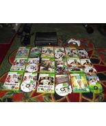 Microsoft Xbox 360 S Slim Model 1439 4GB Black Console W/ 9 games & cont... - $178.19