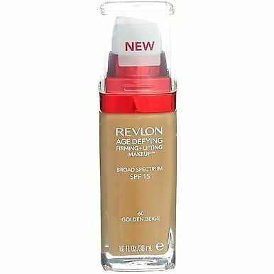 Primary image for Revlon Age Defying Cream Makeup - 60 Golden Beige