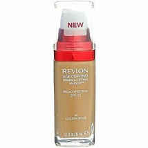 Revlon Age Defying Cream Makeup - 60 Golden Beige - $7.49