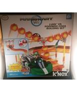Nintendo Mario Kart Wii K'Nex Luigi vs Podoboo Cogs Building Set KNex NIB - $94.04