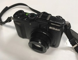 Nikon COOLPIX P7000 10.1MP Digital Camera Black No Charger or Cords - $137.20