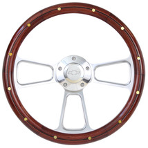 Wood Steering Wheel for 1964 -1965 Chevy Chevelle, El Camino w/ididit Column - $179.99