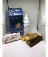 RARE Soft Sheen Color Accents Transparent Hair Color Blue Black - $25.00