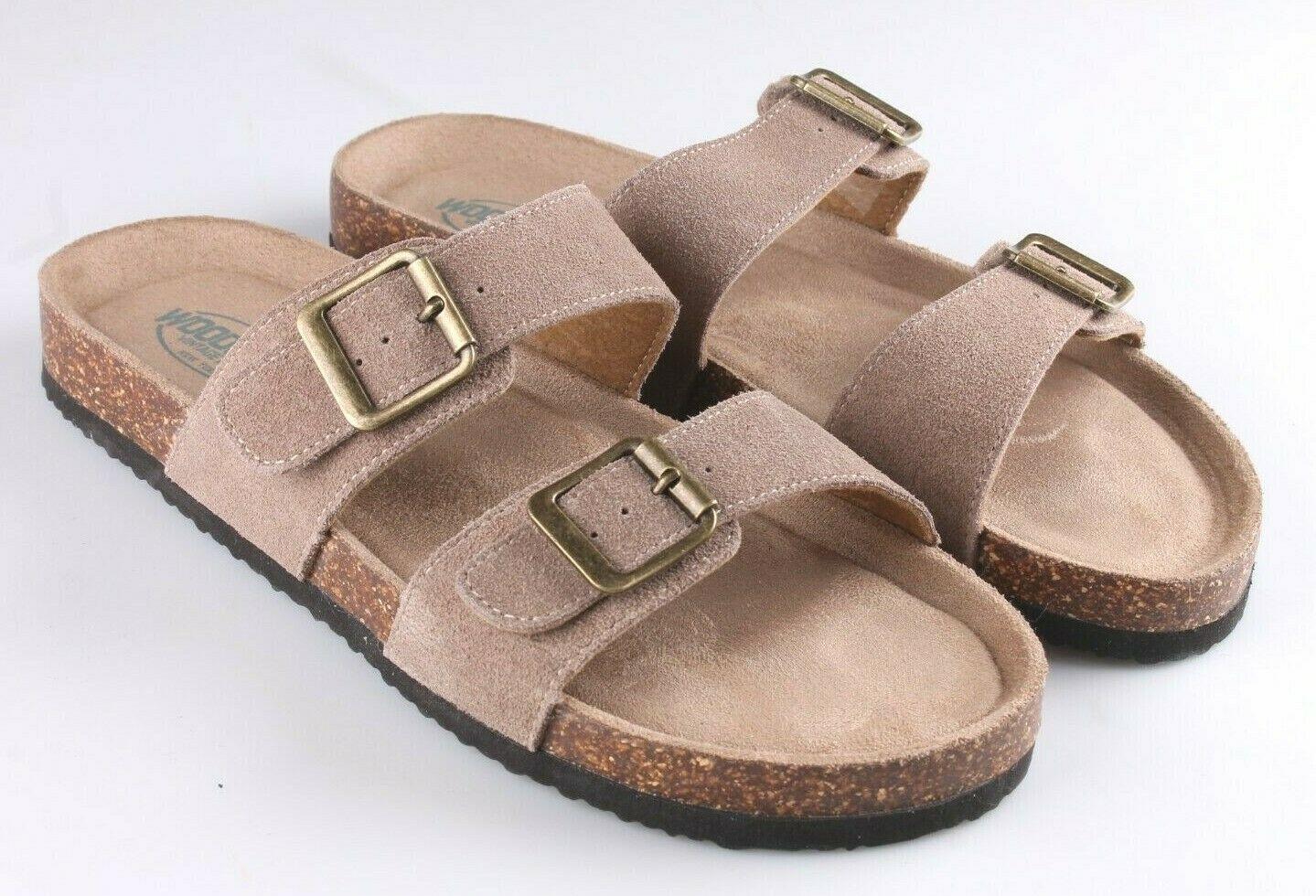 Woodstock Women Leslie Comfort Footbed Adjustable Straps Sandal Shoe Tan Size 9