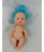 Strawberry Shortcake Mini Doll Figure Blue Hair American Greetings 1984 - $13.60