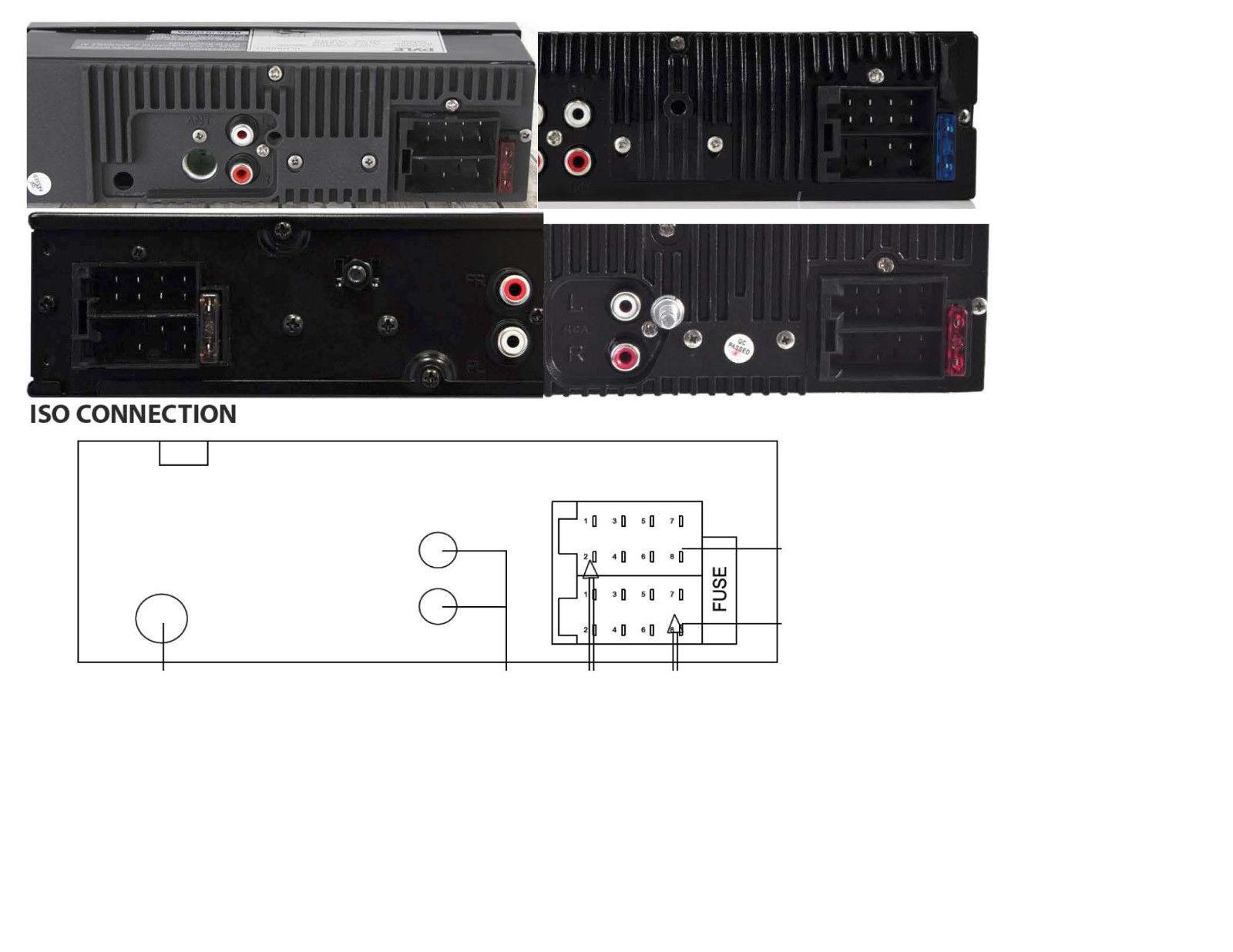 ... Xtenzi 16 Pin Radio Wire ISO Harness for Pyle Marine Boat PLMR21BT  PLMR20W new