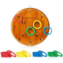 Fun Ring Toss BOARD GAME PLAYSET Outdoor Indoor Adults Kids Darts Altern... - $26.99
