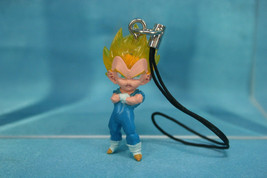 Bandai Dragonball Z UDM The Best Mini Figure Strap Prince Vegeta Super Saiyan SS - $34.99