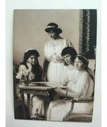 Grand Duchesses Olga, Tatyana, Marie, Anastasia OTMA Royalty Postcard Ph... - $1.70