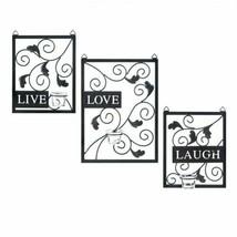 Live Love Laugh Wall Decor - $66.34