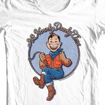 Howdy doody t shirt vintage retro tv graphic tee online store for sale white thumb200