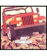 1986 Jeep Wrangler Prestige Brochure. Laredo - $8.91
