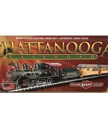 Bachmann Big haulers Large Scale Train Set Chattanooga 4-6-0 Vintage HTF - $188.05