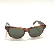 RayBan B&L Wayfarer II Sunglasses Vintage Shiny Tortoise Frame Hipster G... - $232.82