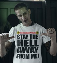 Coronavirus protective wear T Shirt Stay the hell away from me graphic tee shirt image 4