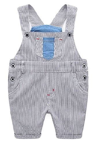 New Style Children's Wild Casual Pants Suspender Trousers Age 2-5