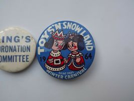 Lot of 3 Vintage St. Paul Winter Carnival Pinback Buttons image 4