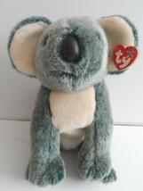 "Ty Beanie Buddy Buddies Eucalyptus Gray Koala 10"" Plush Stuffed Animal Toy 1999 - $6.92"