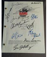 Big Bang Theory 23x Cast Hand Signed Script COA Rare Carol Ann Susi - $1,499.00