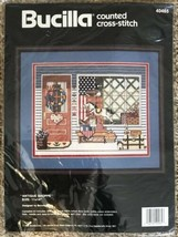 Antique Shoppe Bucilla Counted Cross Stitch Kit 40465 New! - $9.79