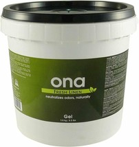 Hydrofarm Ona Gel Pail Fresh Linen Scented Odor Neutralizer, 1-gallon | ... - $53.58