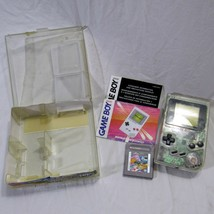 Nintendo Game Boy DMG-01 Clear Original Retail Store Plastic Case Serial... - $249.99