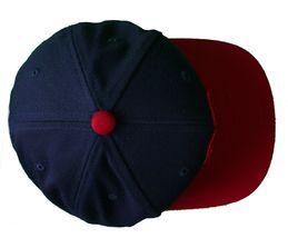 Kr3w krew Skateboarding Navy Blue Red Mark Starter Snapback Baseball Hat Cap NWT image 5