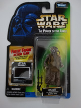 1997 Star Wars POTF Zuckuss Freeze Frame Action Slide Action Figure - $15.00