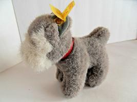Steiff dog terrier schnauzer miniature all IDs Germany 2066 - $37.99