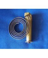 Shelf Clock Wire Gong on Brass Base 2 1/2 inch gong - $8.99