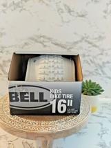 "Bell  Kids Bike Tire 16"" x 1.75-2.25"" White New In Box SHIPS FREE - $18.80"